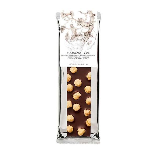 Chokoladeplade, Hazelnut 61%, Summerbird