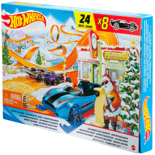 Hot Wheels julekalender