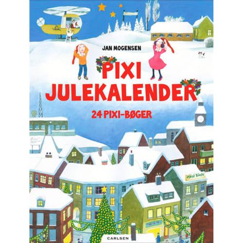 Pixi julekalender - Indeholder 24 Pixi-bøger - Indbundet