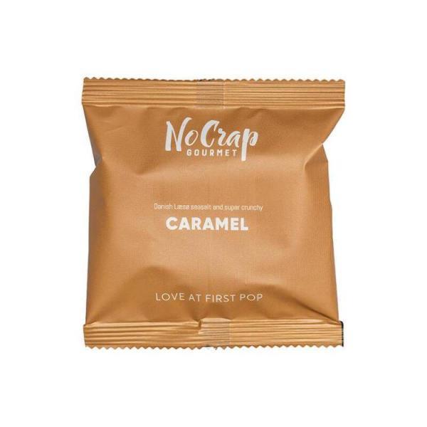Popcorn med Karamel, No Crap Flowpack