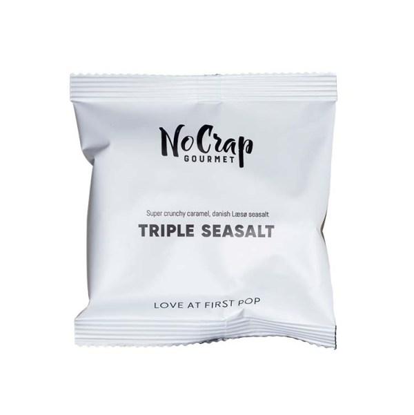 Popcorn med triple havsalt, No Crap Flowpack