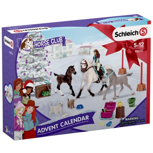 Schleich julekalender - Horse Club