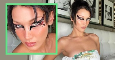 Bella Hadid's Butterfly Cat-Eye Makeup Look – BeBeautiful