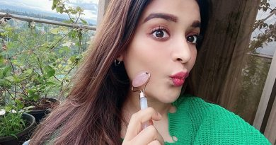 Birthday girl Nidhhi Agerwal gives us an exclusive sneak peek into her lockdown skincare routine