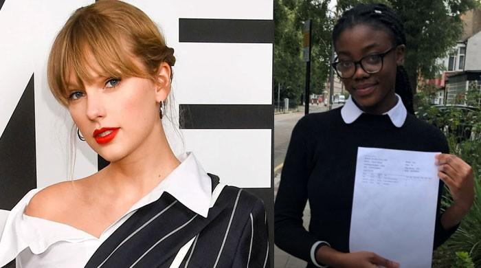 Taylor Swift helps top- scoring student's dreams come true