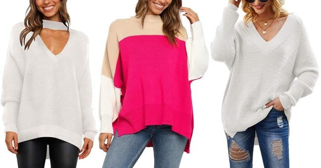 This Affordable V-Neck Sweater Has an Unexpected Detail