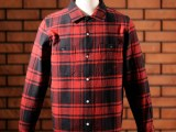 FK-WORK FLANNEL L/S Ⅰ (RED)