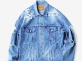 FK-TRUCKER JKT [ICE BLUE] ¥32,000- [FRONT SIDE]