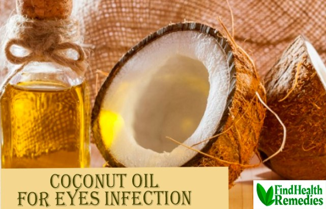 Coconut Oil for Eyes Infection