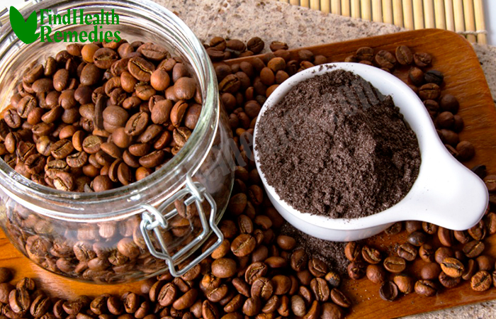 Natural coffee scrub for Stretch Marks
