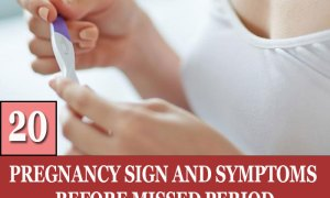 20 Pregnancy Sign and Symptoms Before Missed Period