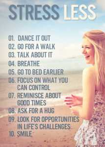 Stress Less Stay Fit for Lose Weight