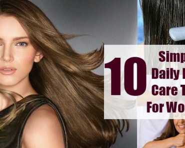 Hair Care Tips For Women