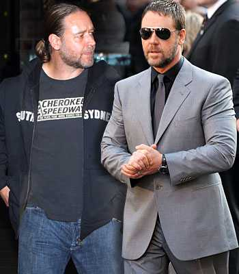 Russell Crowe Fat to Fit