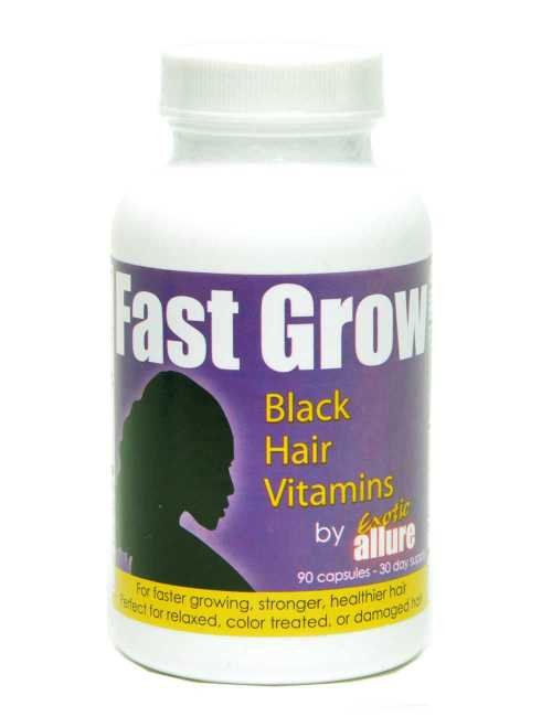 Fast Grow hair growth capsules