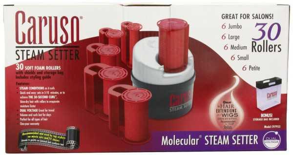Caruso C97953 30 Molecular Steam Hairsetter