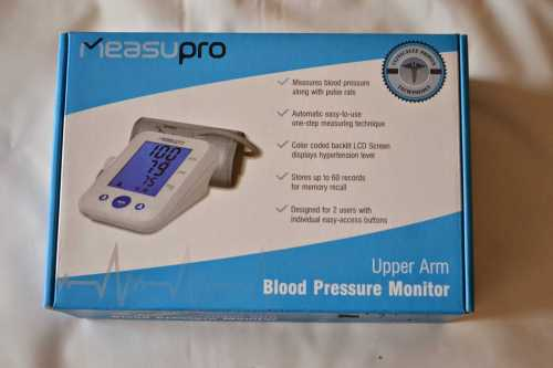 MeasurePro BPM-20A Blood Pressure Monitors