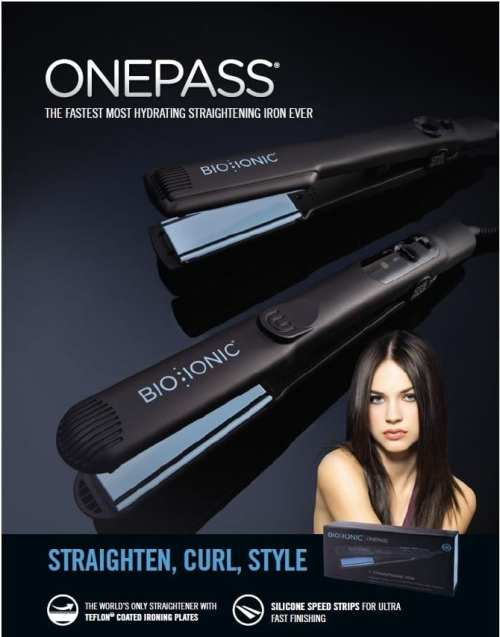 Bio Ionic One Pass Hair Curling Brands