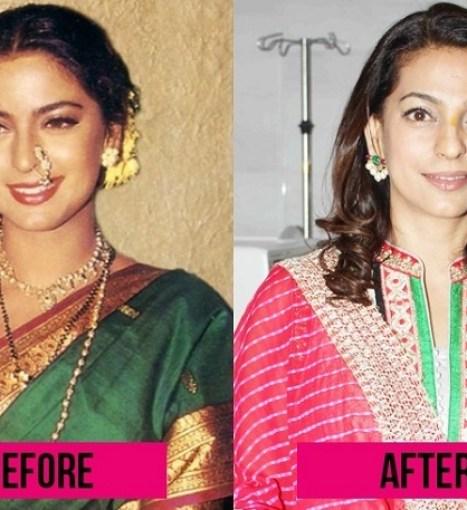 Juhi Chawla Bollywood Actress Plastic Surgery