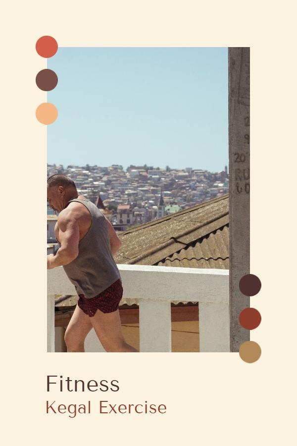 Fitness Kegel Egzersizleri - kaslarınızı güçlendirin - yaşlı bir adam koşuyor