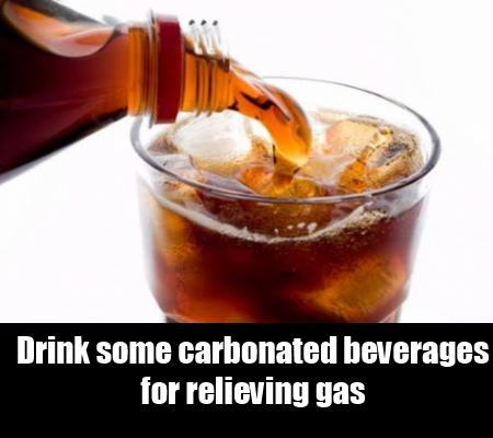 Carbonated Beverages for Relieving Gas