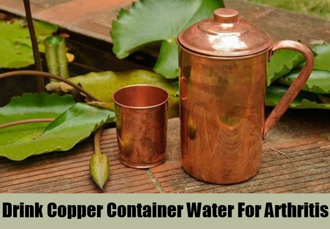 Drink Copper Container Water