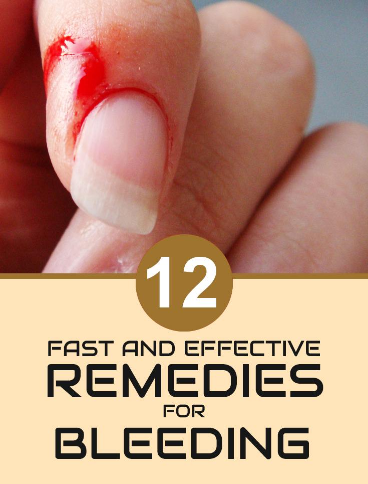 Home Remedies For Bleeding