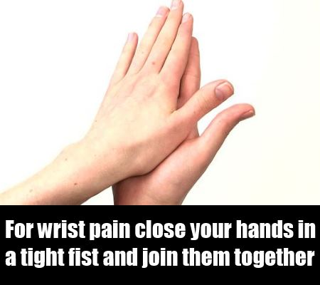 for wrist pain