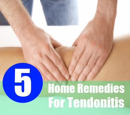 5 Incredible Home Remedies For Tendonitis