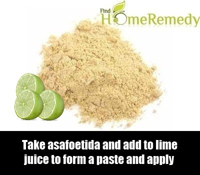 Asafetida and lime