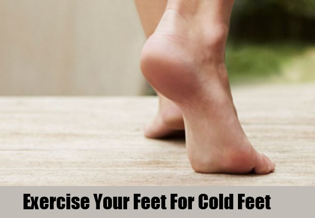 Exercise Your Feet Regularly