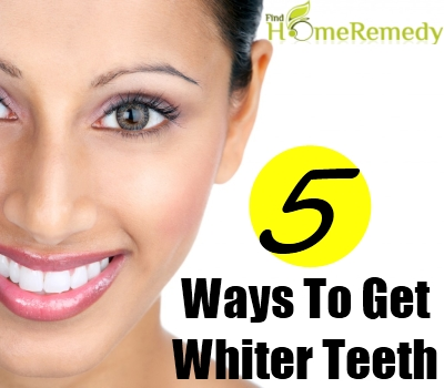 how to get white teeth home remedy