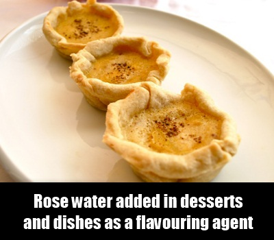 desserts and dishes