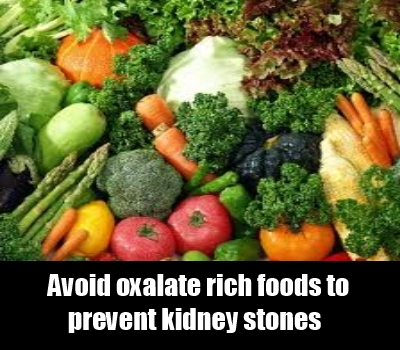Oxalate Rich Foods