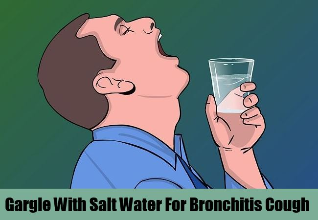Gargle With Salt Water