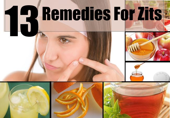 Remedies For Zits
