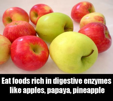Eat Foods Rich in Digestive Enzymes