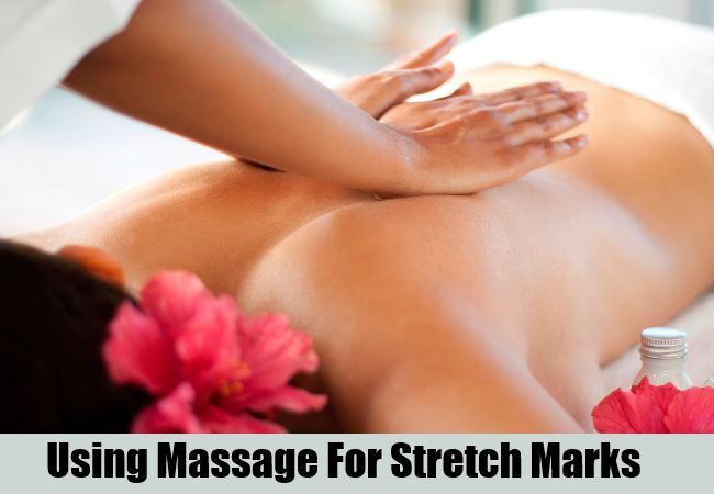 Massage Using A Healing Paste