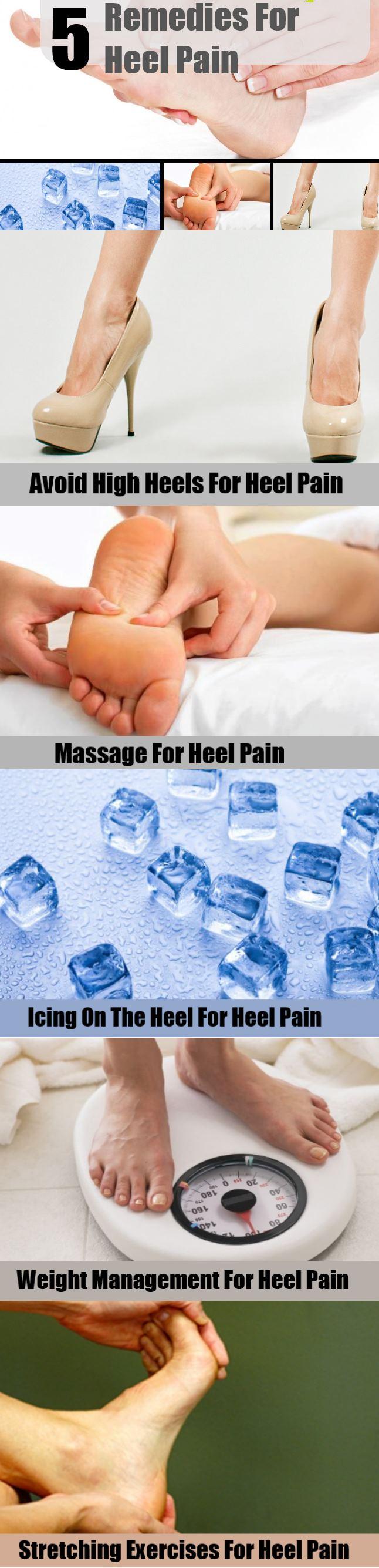 Remedies For Heel Pain