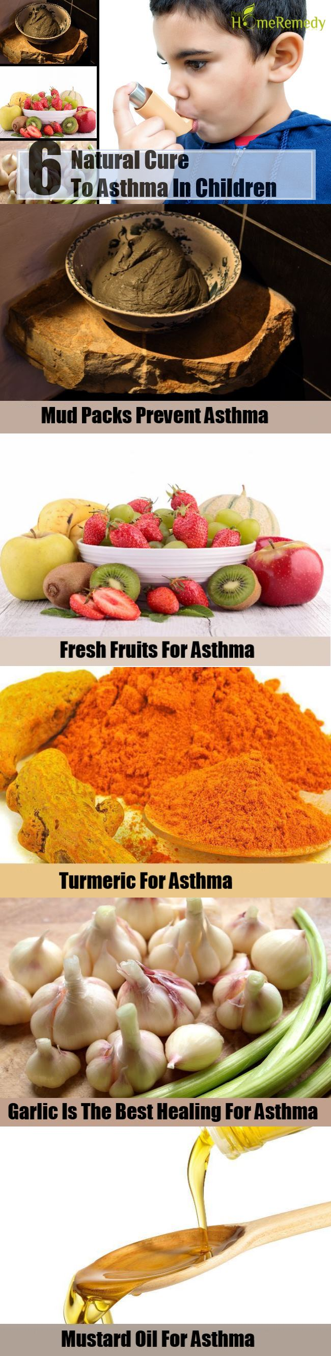 6 Natural Cure For Asthma In Children
