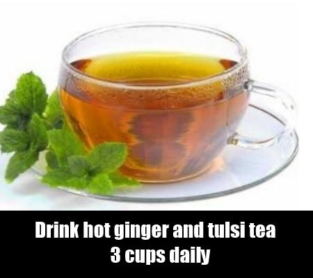 Ginger And Tulsi Tea