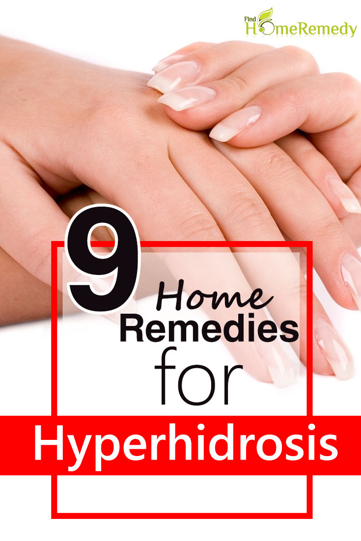 Home Remedies For Hyperhidrosis