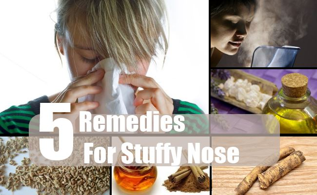 Natural Cures For Stuffy Nose And Cough