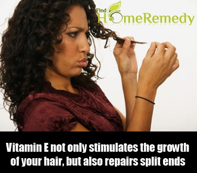 Vitamin E On Hair