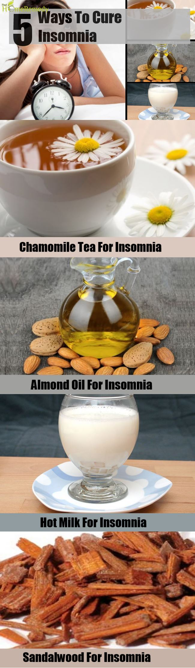 5 Natural Ways To Cure Insomnia