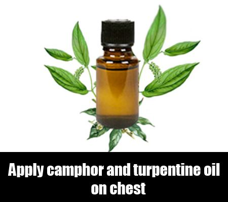 Camphor and Turpentine Oil