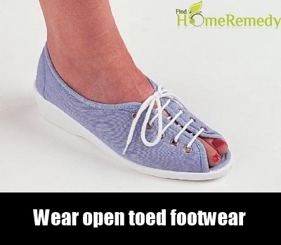 Open Toed Footwear