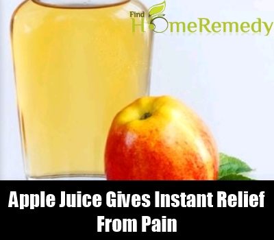 Apple Juice along with Apple cider vinegar