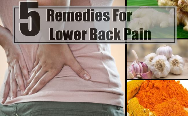 home remedies for back pain 5 effective home remedies for lower back 30850