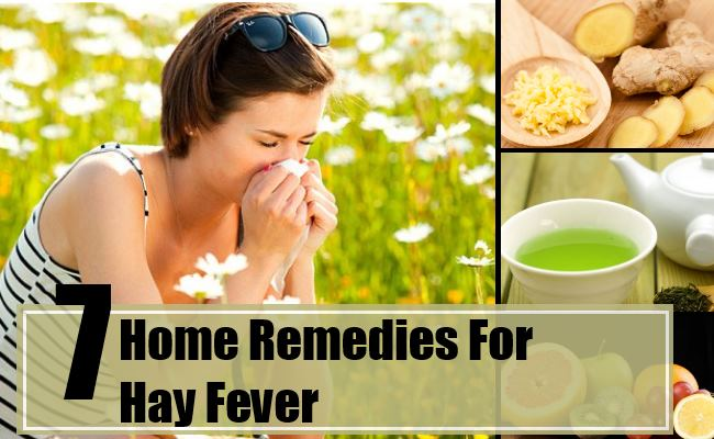 Natural Remedies For Hay Fever Cough